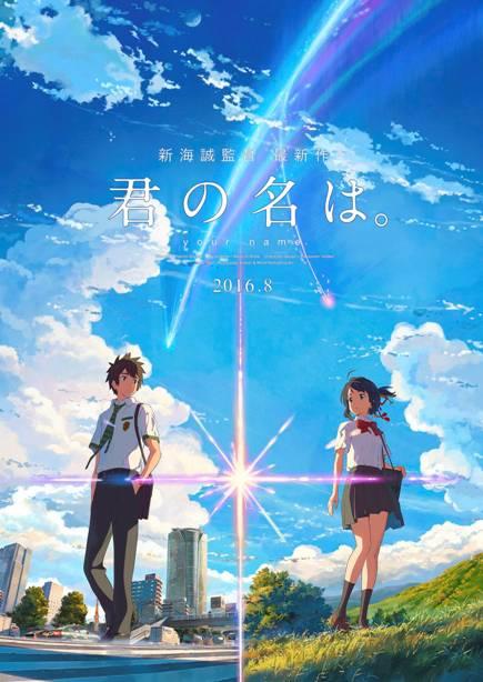 KIMI NO NA WA -YOUR NAME- (2016) movie review by Glen Tripollo