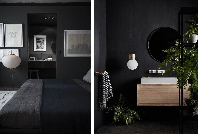 pareti color antracite