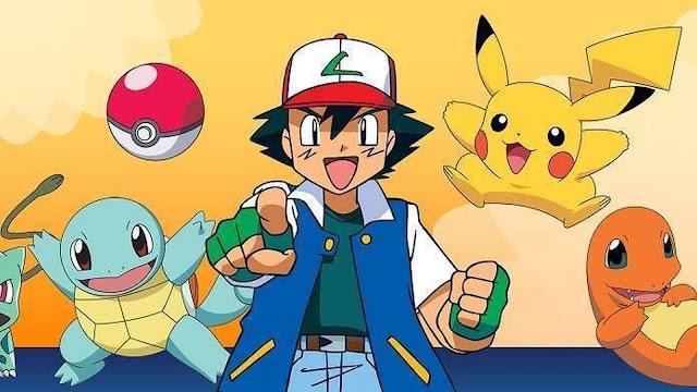 Pokémon primera generación capturados por Ash