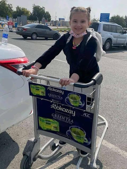 الامارات ترفض خروج الاطفال من المطار