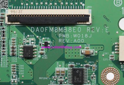 DA0FM8MB8E0 REV E U41 DELL 1555 Laptop Bios