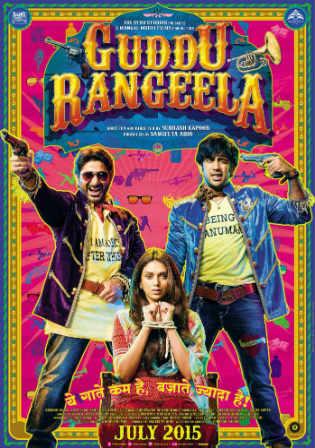 Guddu Rangeela 2015 Full Hindi Movie Download DVDRip 700MB