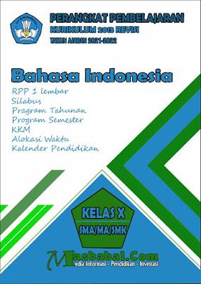 Perangkat Pembelajaran Bahasa Indonesia Kurikulum 2013 Revisi Terbaru