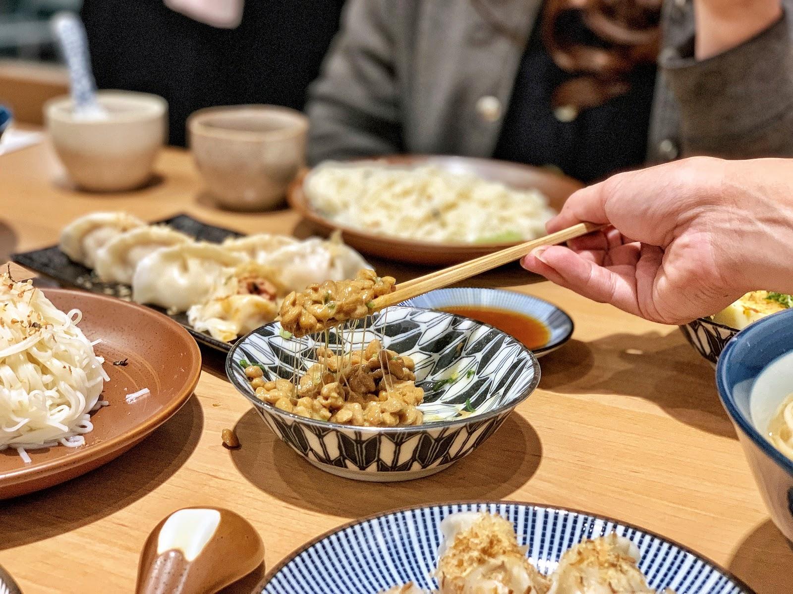 台南南區美食【胡攪蝦餃 金華店】日式納豆