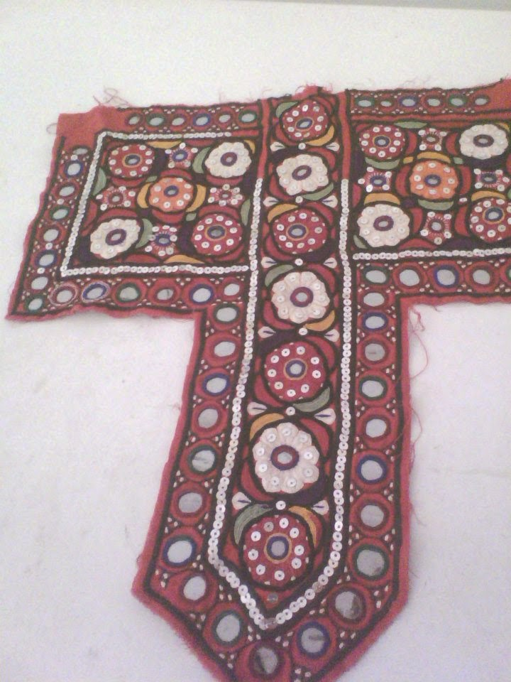 Sindhi Culture And Sindhi Dress Sindhi Embroidery Neck