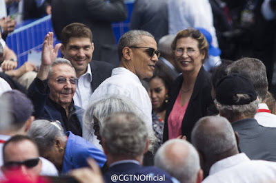 US President Barack Obama has ended a policy that grants residency to Cubans who arrive in the US without visas
