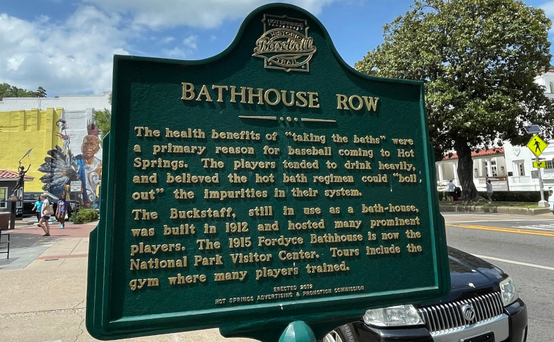 Hot Springs Bathhouse Row