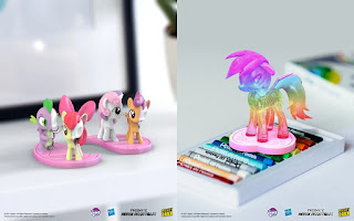 Series 2 My Little Pony Hidden Dissectibles Chase Figures