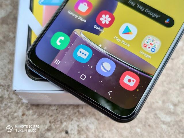 Desain Samsung Galaxy M31