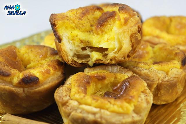 Pasteles de Belén o de nata Ana Sevilla Cocina tradicional
