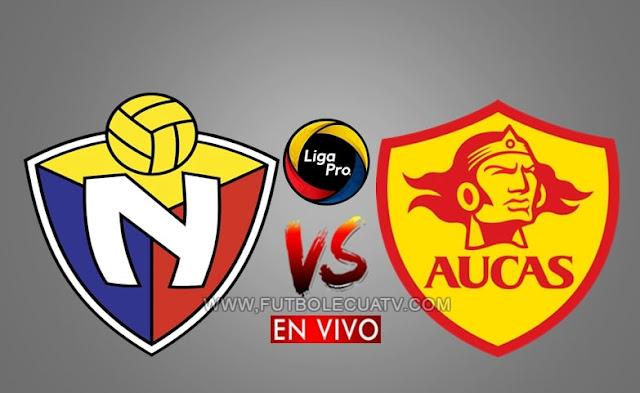 El Nacional recibe al Aucas en vivo desde las 12h30 horario local, por la fecha doce del campeonato ecuatoriano, emitido por GolTV Ecuador a efectuarse en el estadio Olímpico Atahualpa. Con arbitraje principal de René Marín.