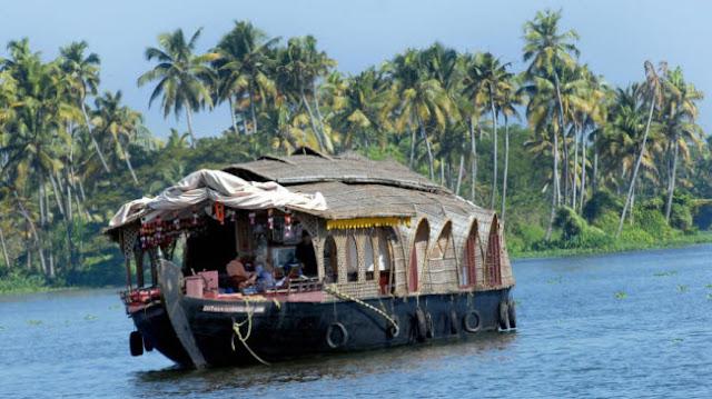 Kerala brackish lagoon system