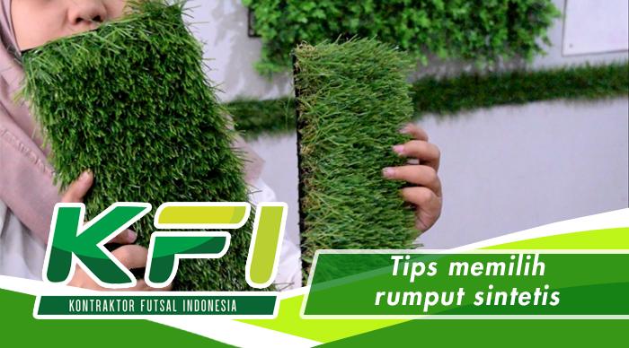 Tips memilih rumput sintetis