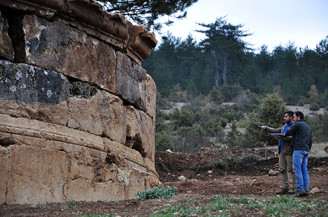 2,200 year-old Paphlagonian burial chamber discovered in Turkey