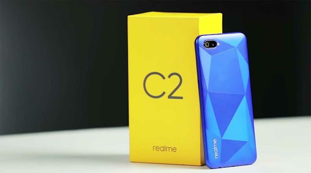 Realme C2 Maroc bleu 64GB Prix Maroc et caractéristiques technique