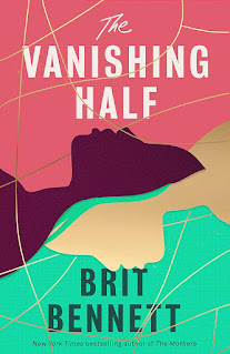Book cover with 2 faces in silhouette profile