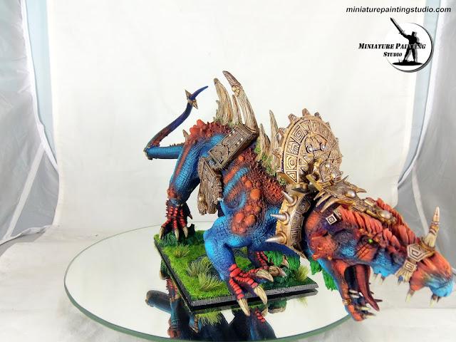 carnosaur warhammer lizardmen