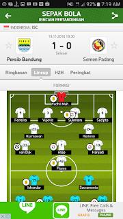 aplikasi melihat formasi pertandingan sepakbola terbaik android ios