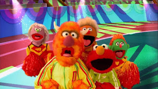 Elmo the Musical Athlete the Musical, Sesame Street Episode 4304 Baby Bear Comes Clean