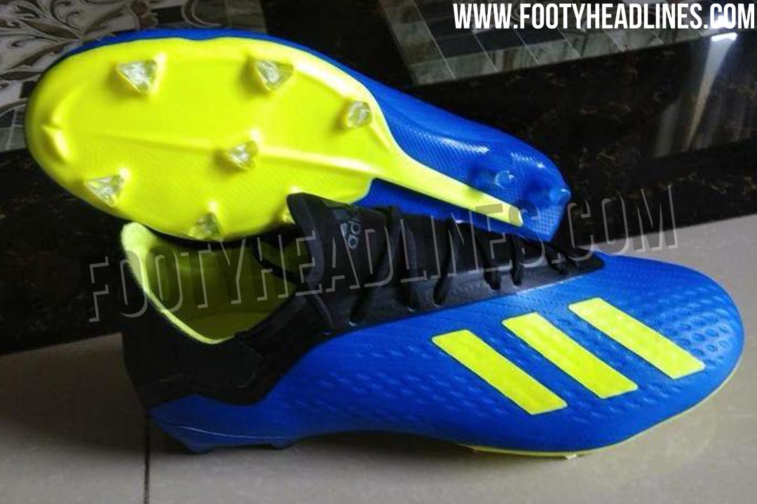 b87f28abe Adizero Vibes - All-New Next-Gen Adidas X 18 Boots Leaked