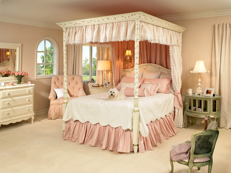 Rooms With Canopy Beds: Hydrangea Hill Cottage: Posh Kids Rooms