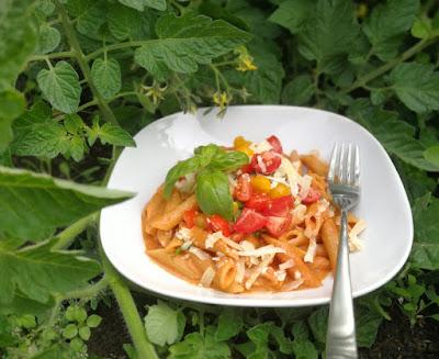 Penne alla Vodka - Pasta mit Tomaten-Wodka-Sauce