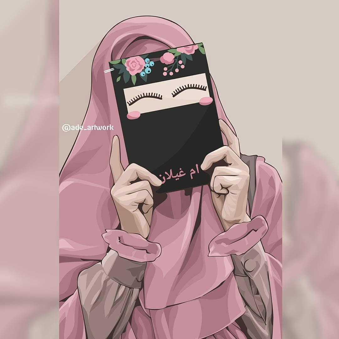 kartun muslimah line stickers line store. Kumpulan Kartun Hijab Muslimah Terbaru Instagram - Cartoon ...