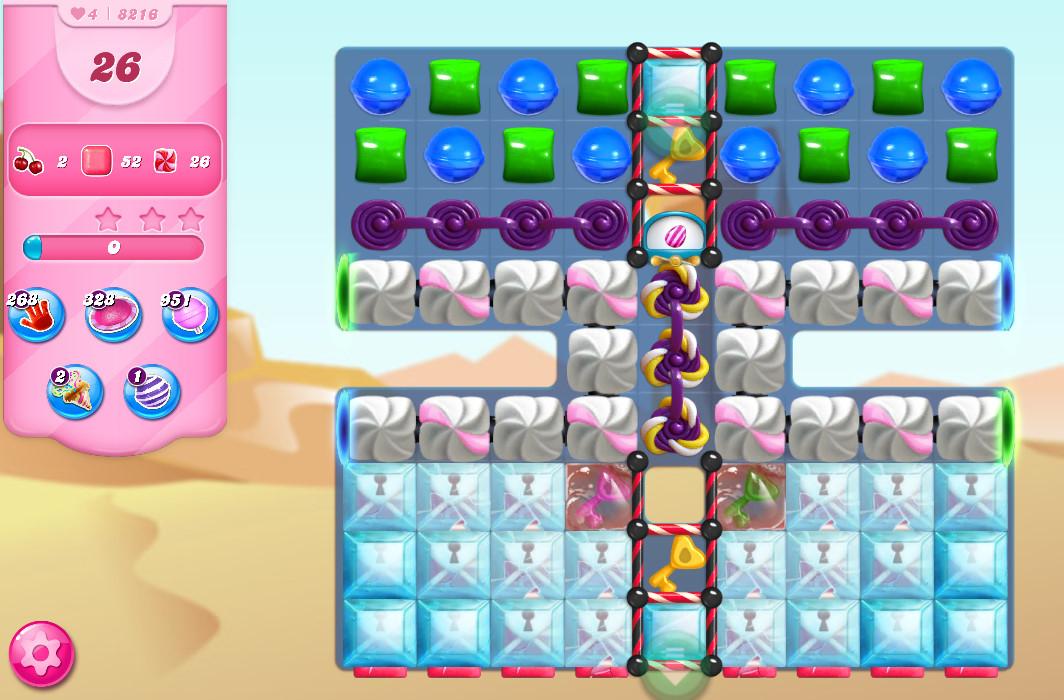 Candy Crush Saga level 8216