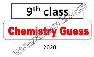 9th class chemsity important questions in urdu and English