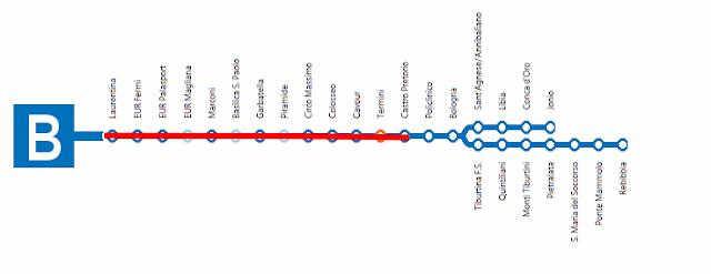 Fori Imperiali/Colosseo, da settembre metro B a regime ridotto: Il Calendario della prima fase