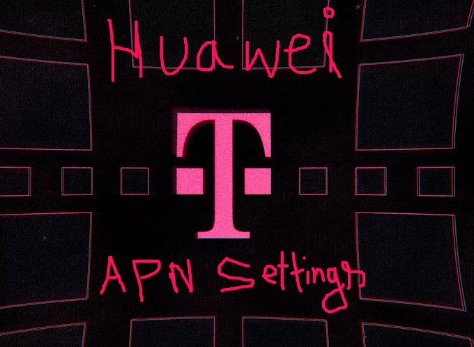 T mobile apn settings Huawei