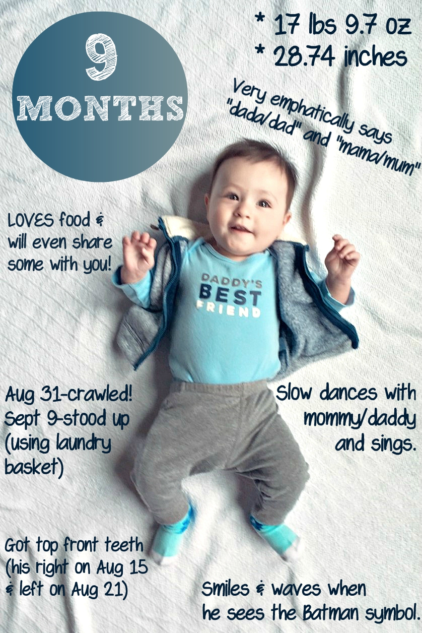 Happy 9 Months Baby Boy : happy, months, Cooking, Actress:, James-9, Months!