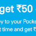 Add Rs 500 and Get Rs 600 in ICICI Pockets Wallet App