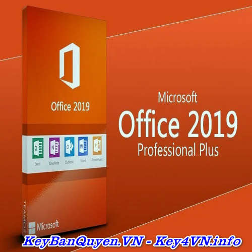 Mua bán key bản quyền Office 2019 Pro Plus (365 trọn đời ) Full 32 Bit và 64 Bit .