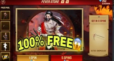 fever store Free Fire