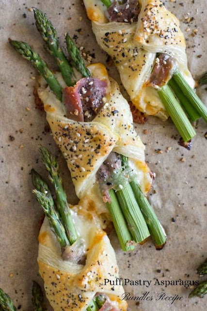 Asparagus Prosciutto Pastry Bundles Recipe #Asparagus #Prosciutto #Pastry #Bundles #Recipe Healthy Recipes Easy, Healthy Recipes Dinner,