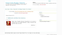 Simple, Clean, dan SEO Friendly Blogger Template