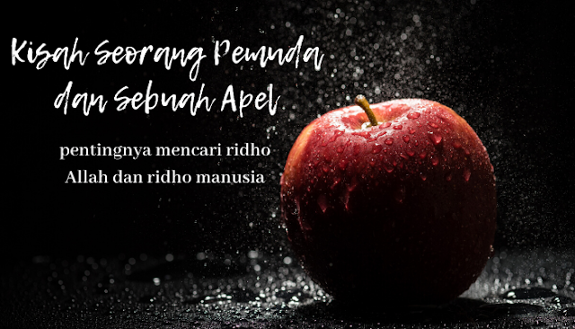 Kisah seorang pemuda dan sebuah apel