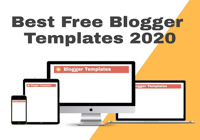 25 Best Professional Blogger Templates Free 2020
