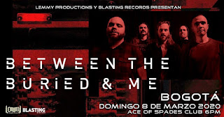 Concierto de BETWEEN THE BURIED & ME