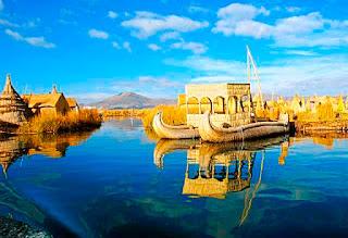 Перу, озеро Титикака