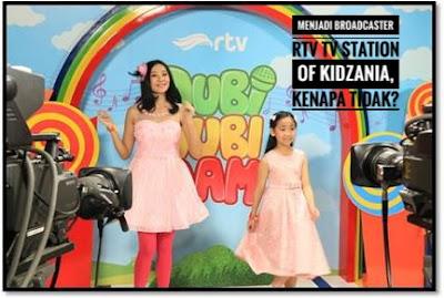 Menjadi Broadcaster di RTV TV Station Of Kidzania, Kenapa Tidak?
