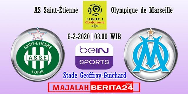 Prediksi Saint Etienne vs Marseille  — 6 Februari 2020
