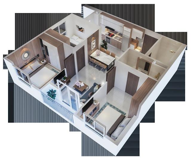 Chung cư nhà ở xã hội Ecohome 3 Tân Xuân Đông Ngạc Bắc Cổ Nhuế, Từ Liêm Hà Nội