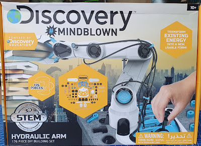 Discovery Mindblown Hydraulic Robot Arm box cover