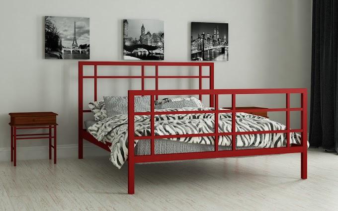 Кровать металлическая Дейзи 120х190/200 ТМ Мадера