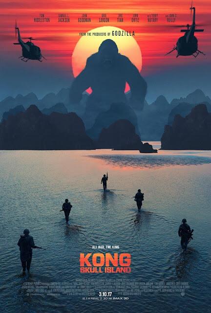 kong la isla calavera estreno cine 2017 pelicula king kong