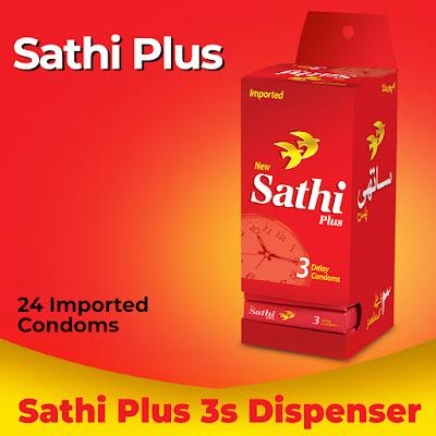 Buy Sathi Plus Condoms Box Online in Pakistan