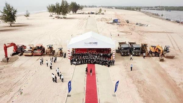 lễ khởi công dự án Habana IsLand Hồ tràm của tập đoàn Novaland