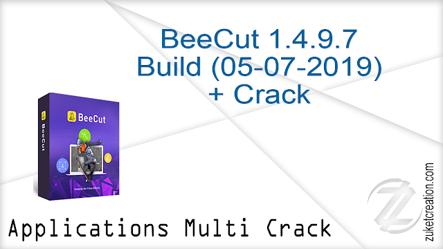 BeeCut 1.4.9.7 Build (05-07-2019) + Crack  |  68.4 MB